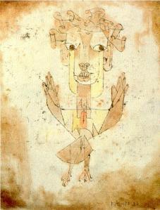 Angelus Novus by Paul Klee, 1920